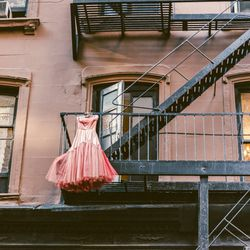 """<b>↑</b>Hidden away on the second floor of a nondescript building (just ring the buzzer) is the New York City vintage-lover's best-kept secret, <b><a href="""" http://shareen.com/"""">Shareen</a></b> (13 West 17th Street). The bicoastal owner specializes in dre"""