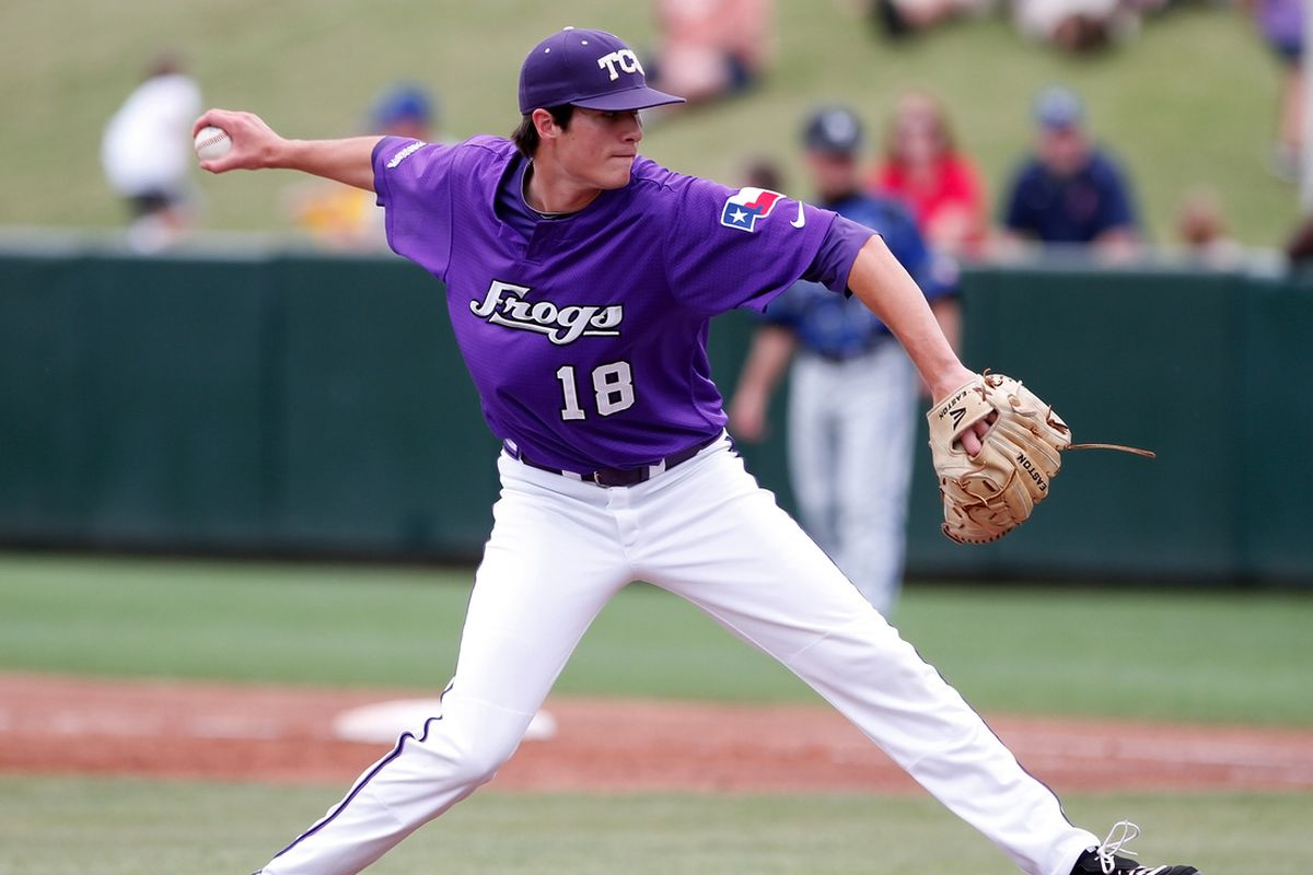 Preston Morrison tries to get the Frogs their first win.
