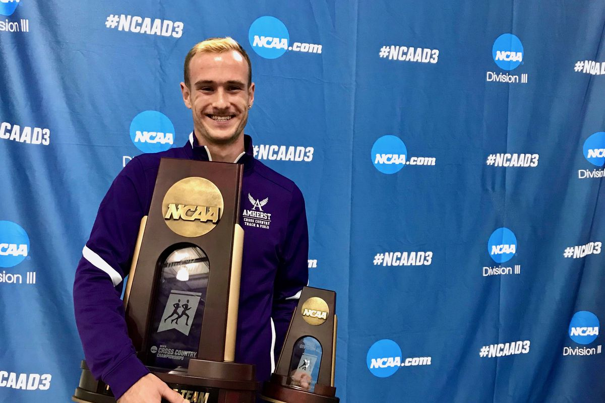 Gay runner helps team win NCAA cross country trophy
