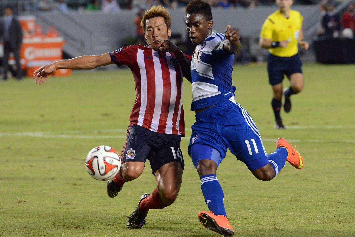 Kaji: Seems to be settling into MLS reasonably well.