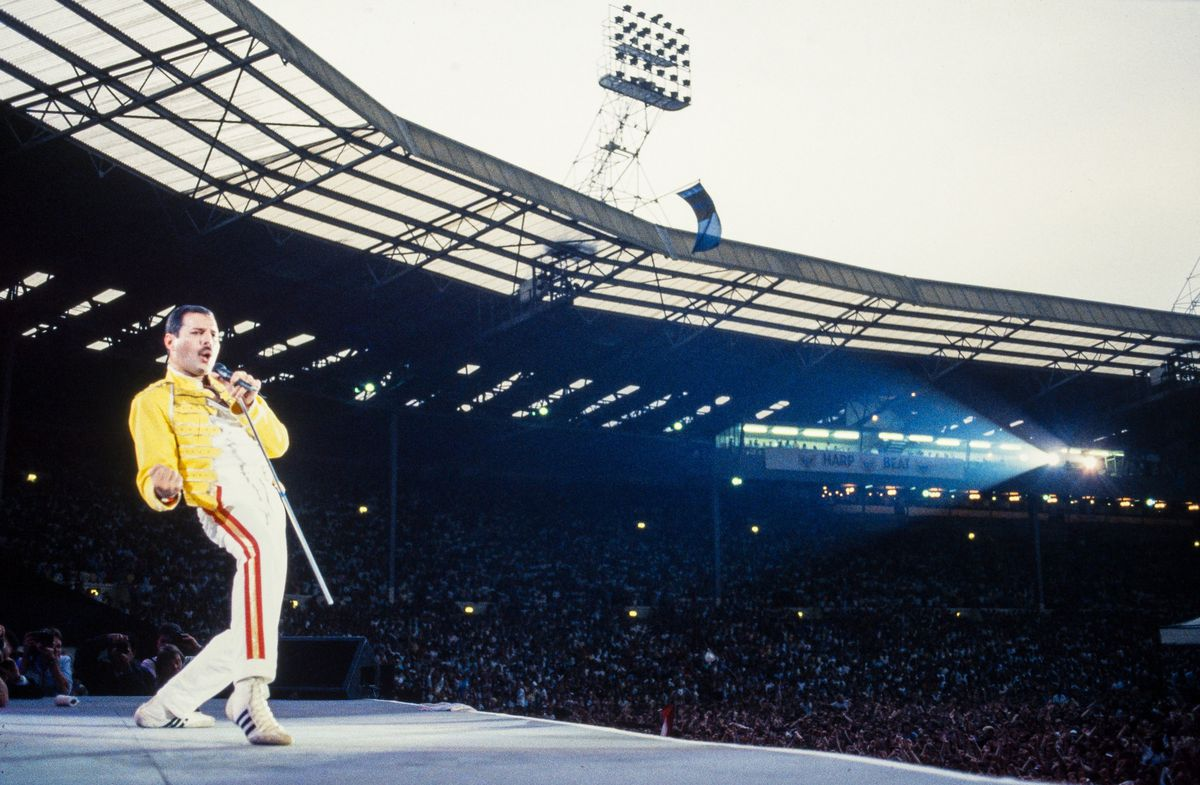Queen concert At Wembley Stadium