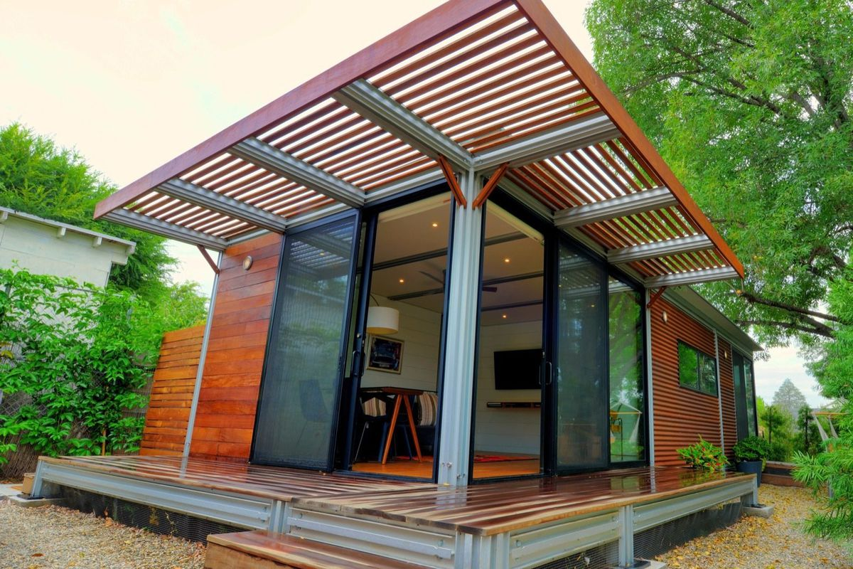 New prefab homes from Kithaus target the backyard house market - Curbed