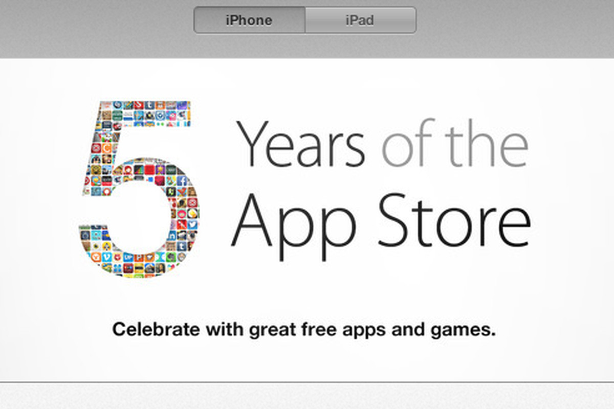 Top iOS apps and games go free ahead of App Store's fifth
