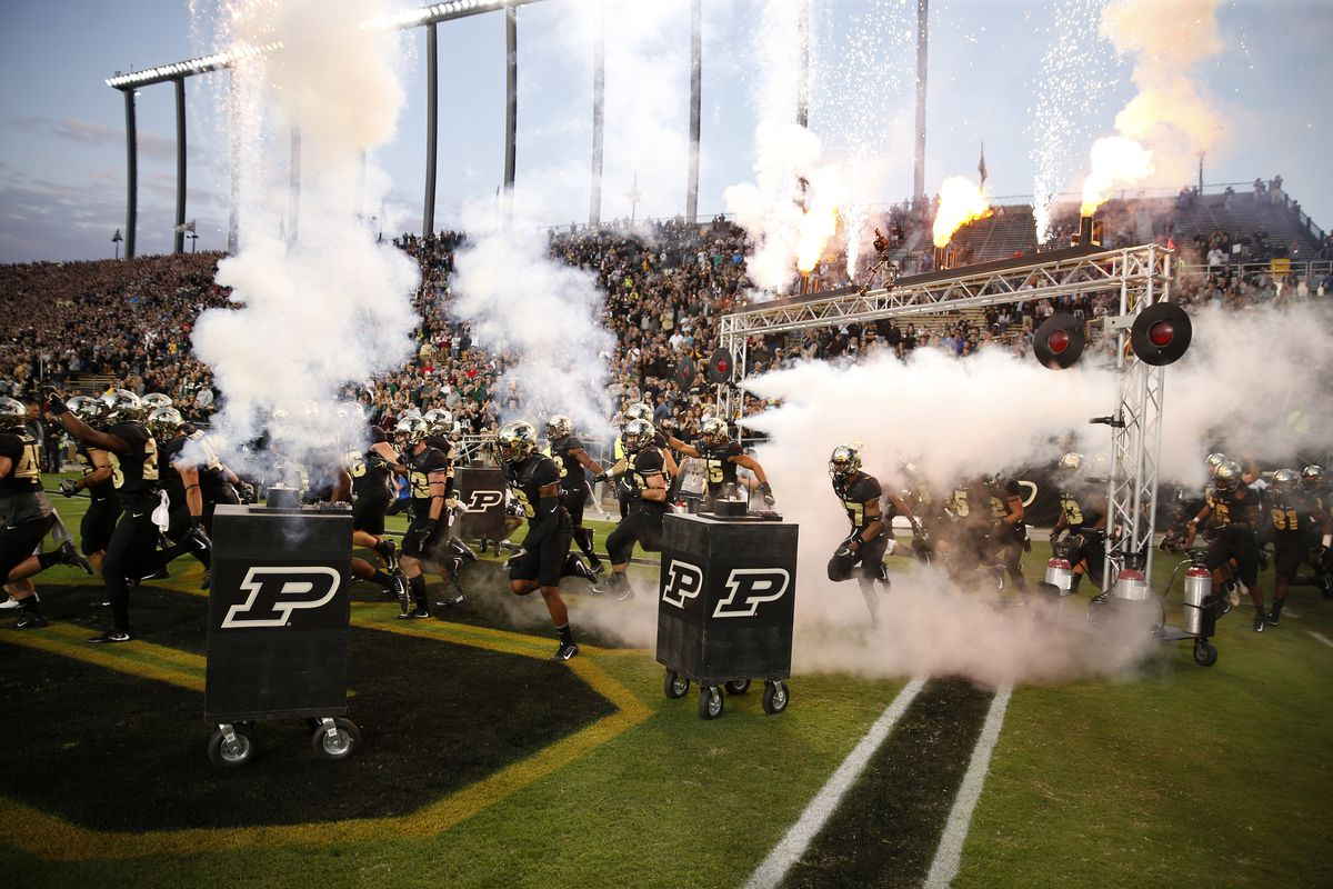 NCAA Football: Ohio at Purdue