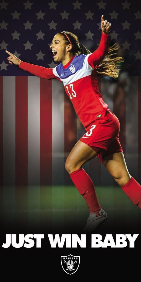 US Women's team ad