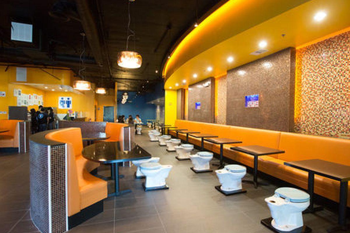 Magic Restroom Cafe