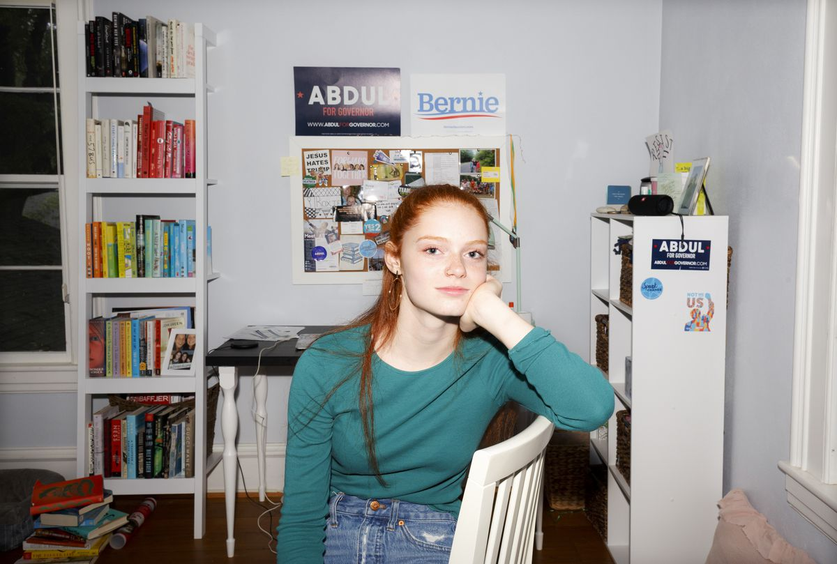 """""""I wouldn't say Bernie's my hero,"""" Richner said. """"He's just iconic."""""""