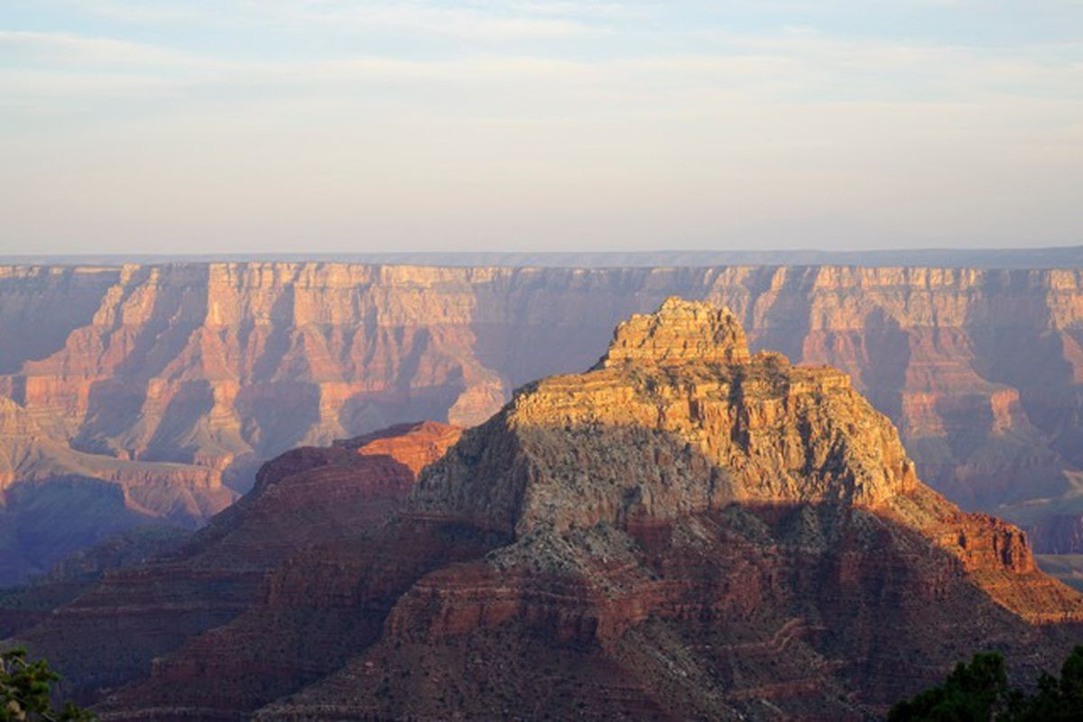 Temple of Vishnu in the Grand Canyon