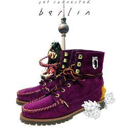 "Mayra Fateh's <a href=""http://www.sebago.com/US/en-US/Product.mvc.aspx/30609W/0/Womens/Exo?dimensions=0"">Exo</a> boot"