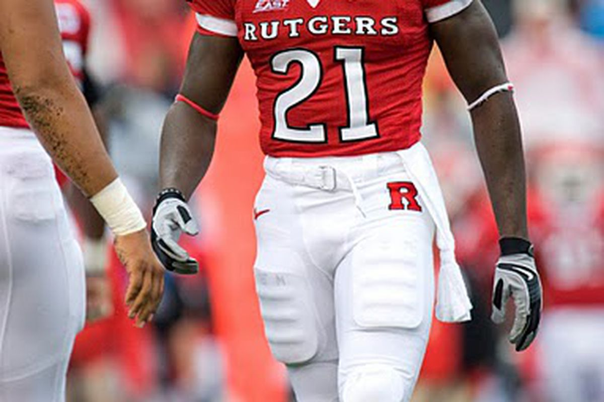 low priced 584b7 90fd8 Scouting The Draft: Devin McCourty, CB, Rutgers - Gang Green ...