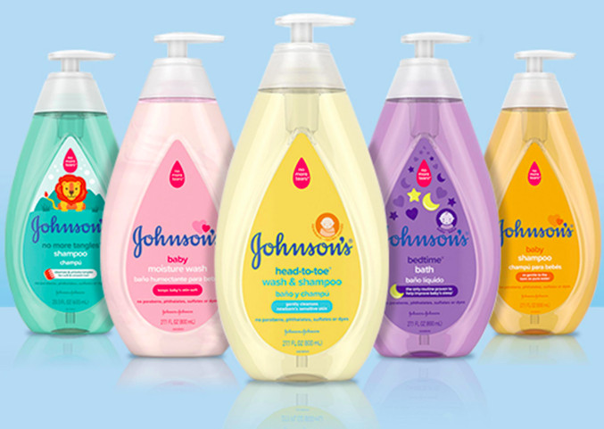 """Johnson & Johnson baby products now competing with luxe """"clean"""