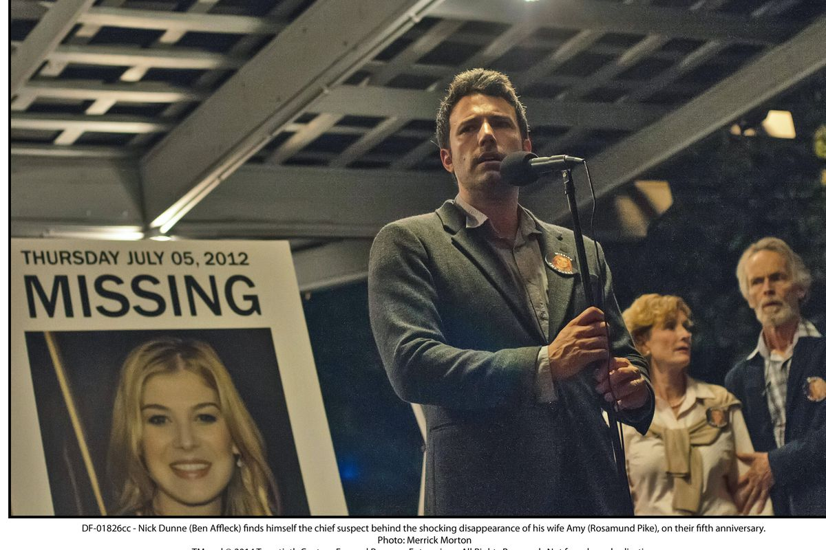 Gone Girl was one of the 10 best movies of 2014.