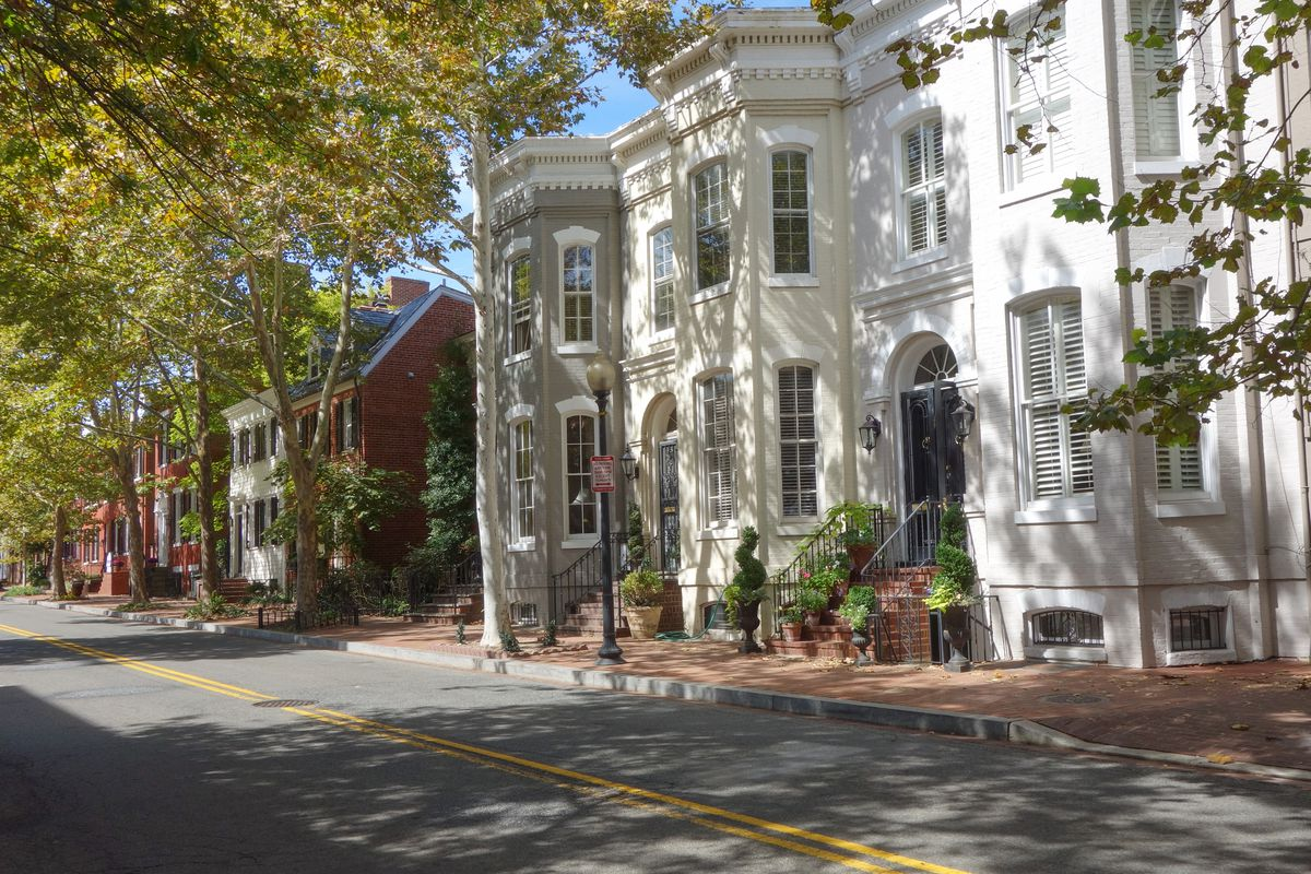 Georgetown House Tour ...