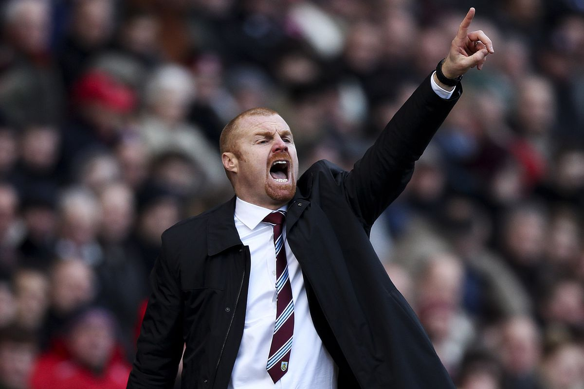 Sean Dyche brings his Burnley side to Elland Road on Tuesday night.