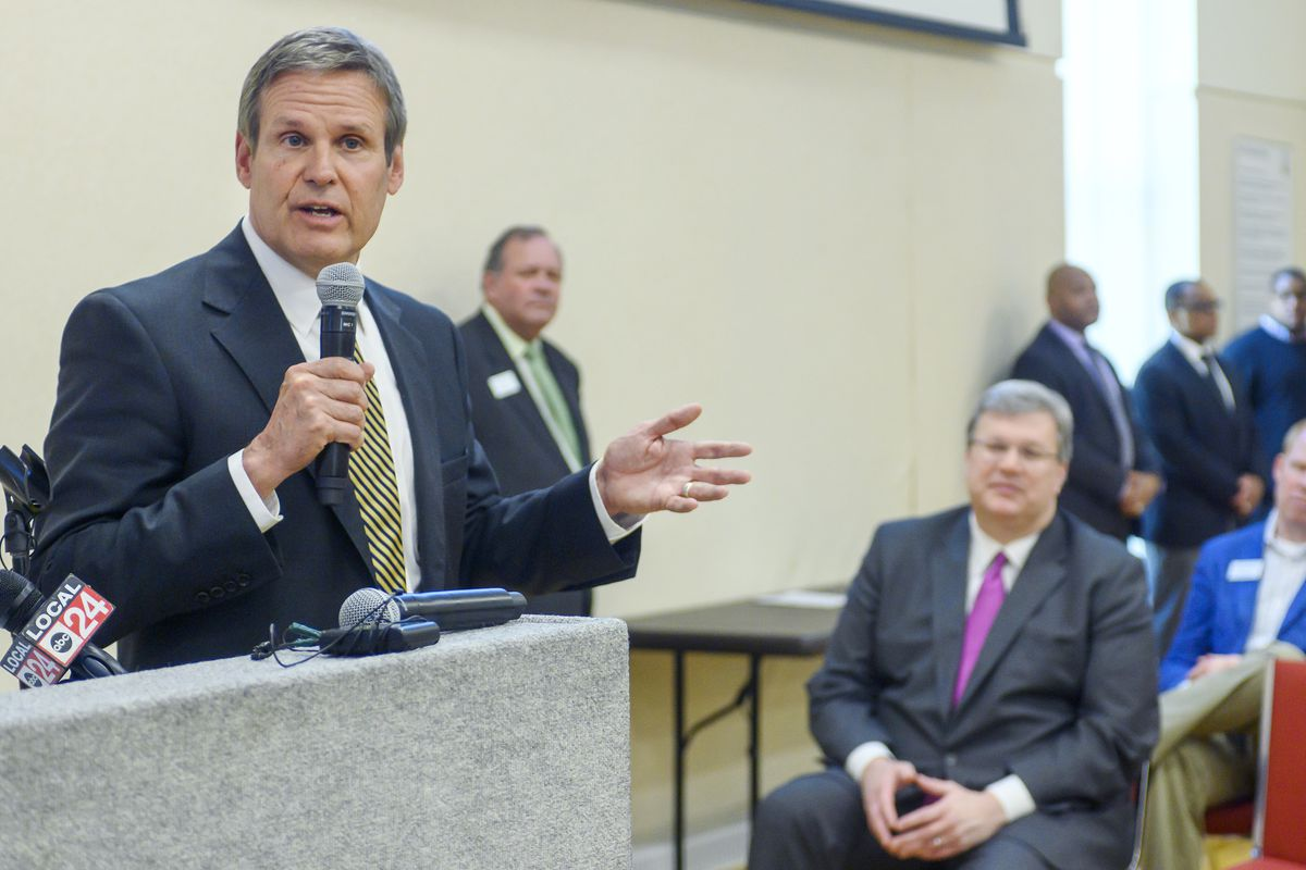 Gov. Bill Lee came to Memphis to announce a new certification program for construction jobs for Shelby County Schools students.