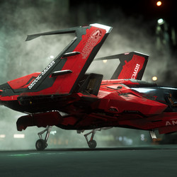 A variant of the Mustang starship.