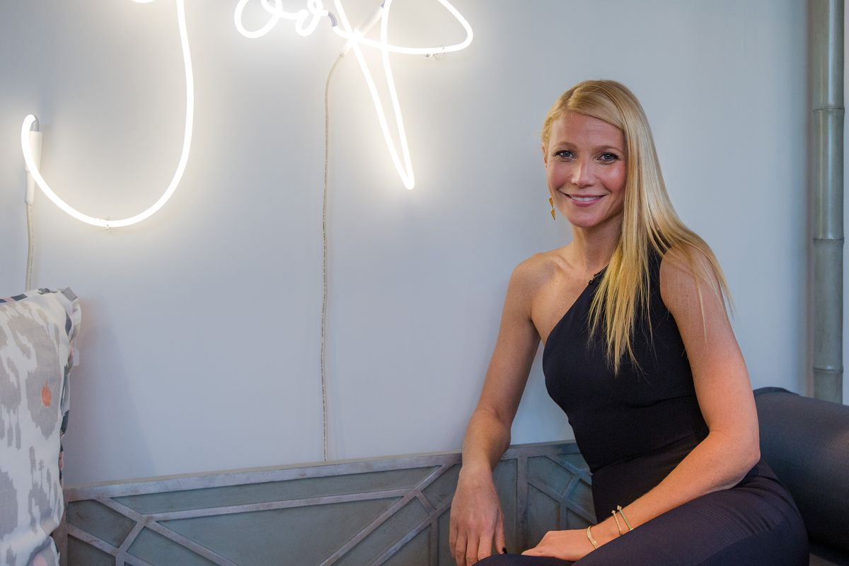 DALLAS, TX - NOVEMBER 20:  Gwyneth Paltrow attends the goop pop Dallas Launch Party in Highland Park Village on November 20, 2014 in Dallas, Texas.  (Photo by Layne Murdoch Jr./Getty Images for goop)