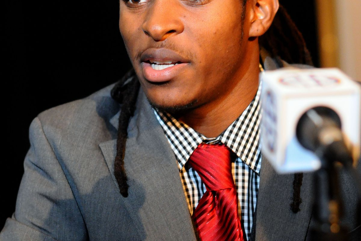Charles Sawyer injured his thigh at a recent Rebel football practice, but will recover soon.