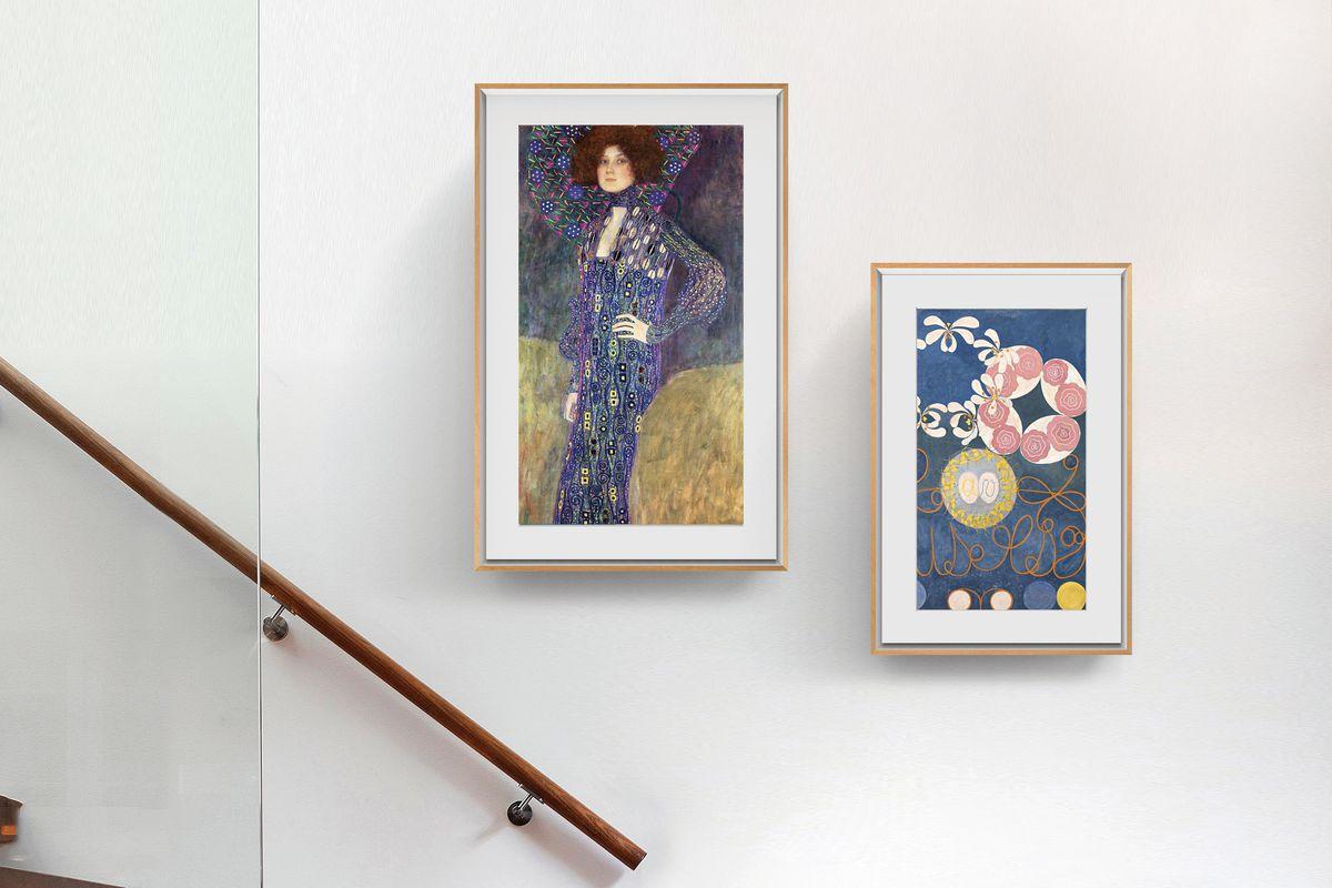 Canvas Frame Kopen.Meural Generation 3 0 Canvas A Smaller More Affordable