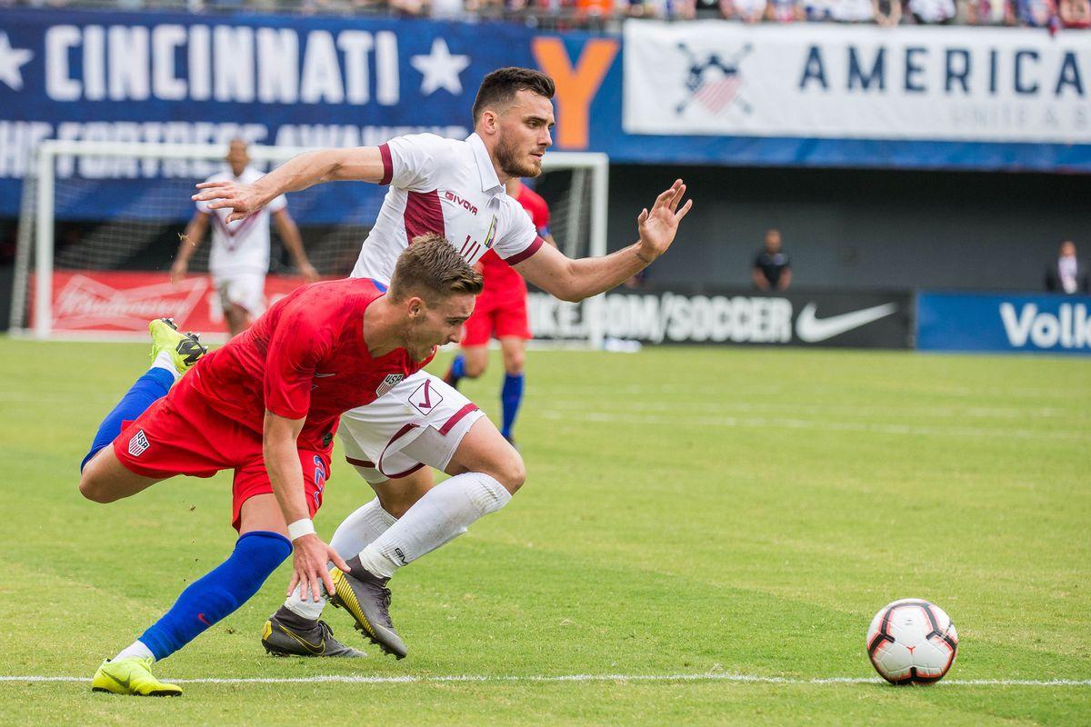 Soccer: International Friendly Soccer-Venezuela at USA