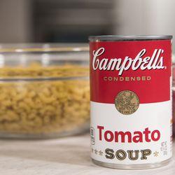 Tomato soup is an important part of the recipe.   Ashlee Rezin/Sun-Times