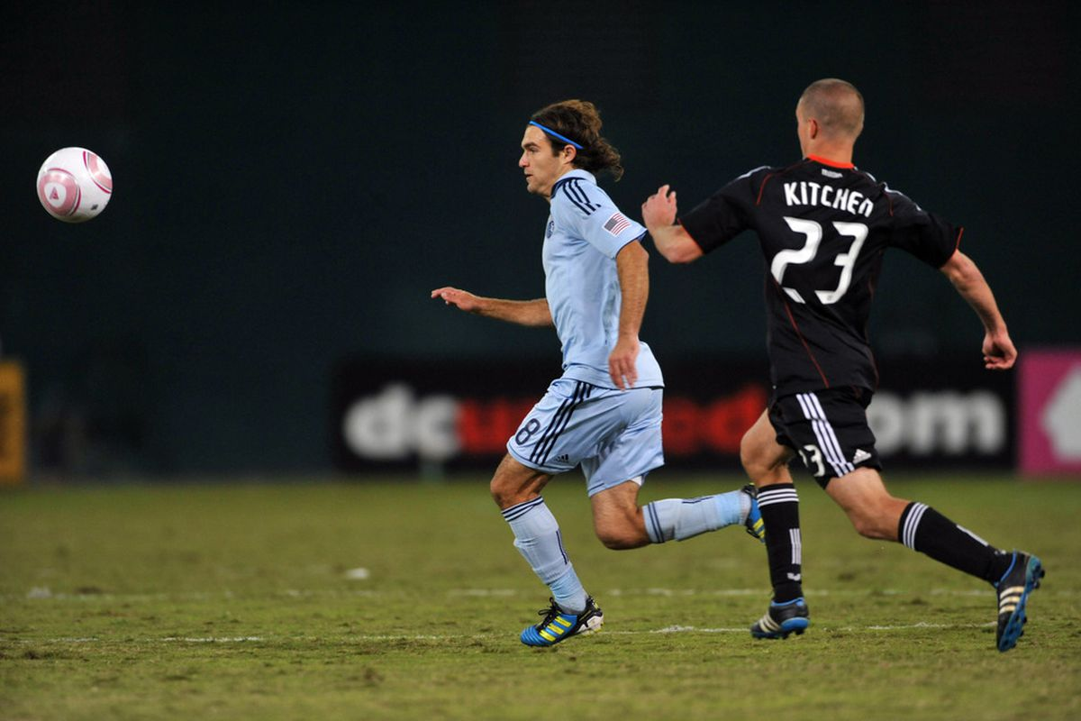 If Perry Kitchen can contain Graham Zusi, and if D.C. United can control the pace of the game, we will have a more than reasonable chance of beating the Eastern Conference favorites.