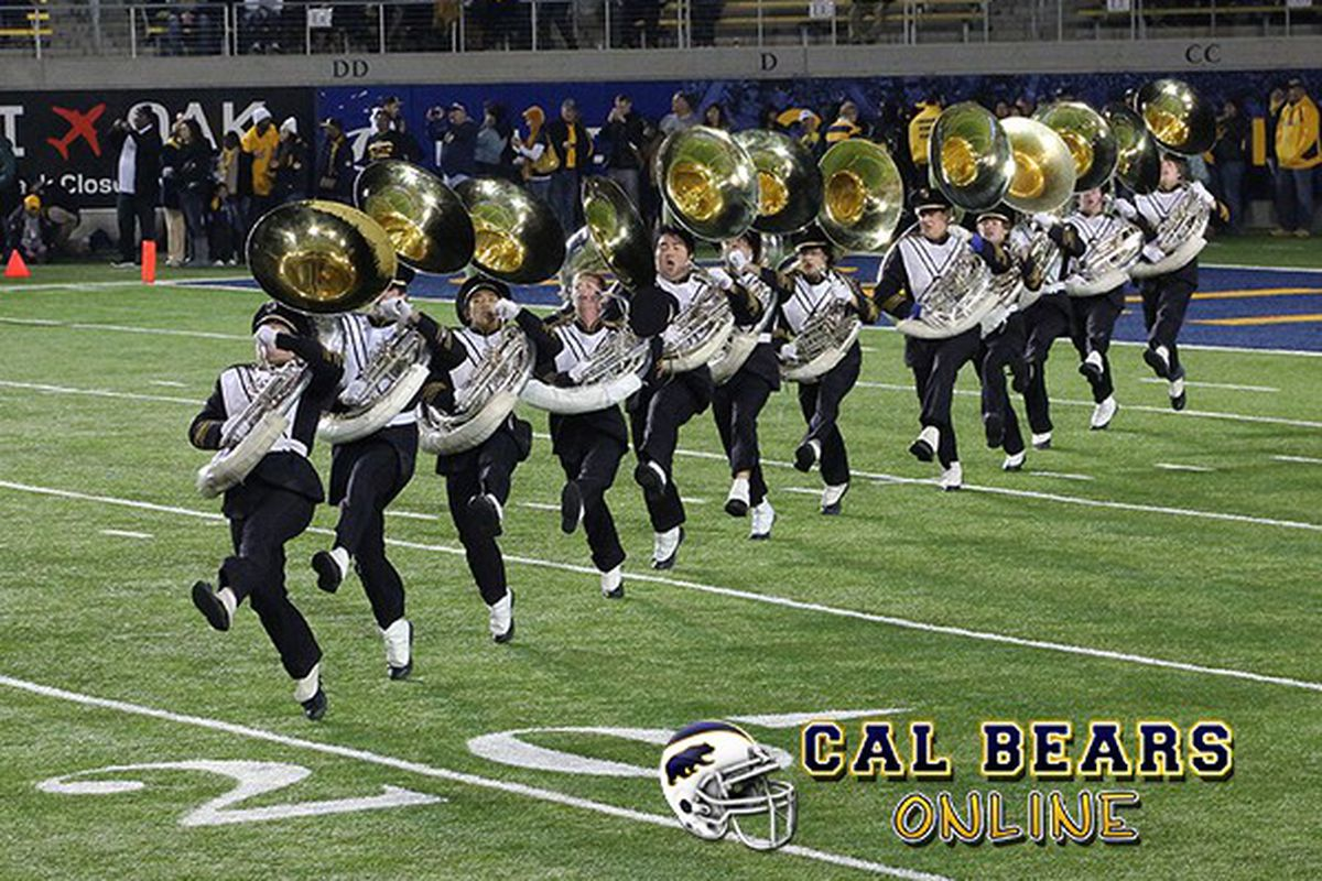 Cal Band can't wait to see the new recruits!