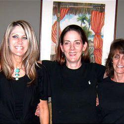 From left, Wendi Kimball Hollis, Cynthia Kimball Humphreys, Kristy Kimball, Tammy Kimball and Jennifer Kimball Klarner.