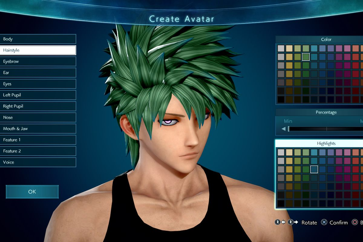 jump force character creator will let you create fun manga