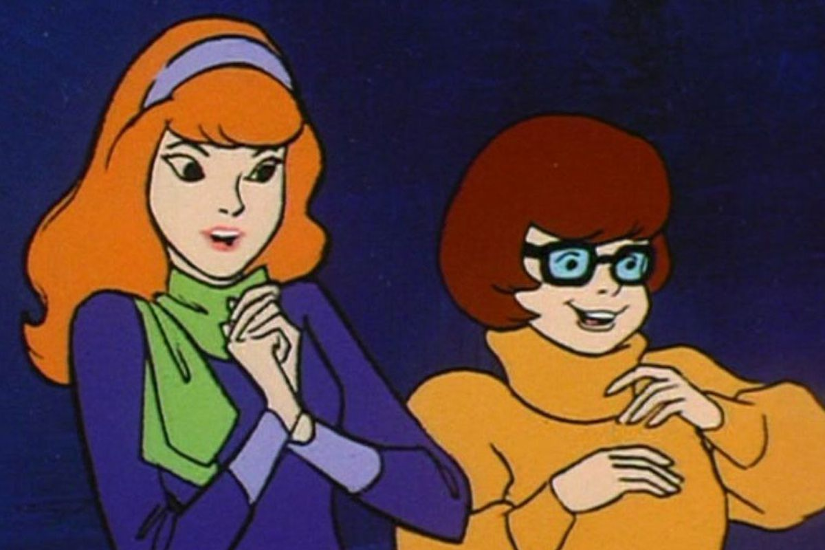 daphne and velma from scooby-doo