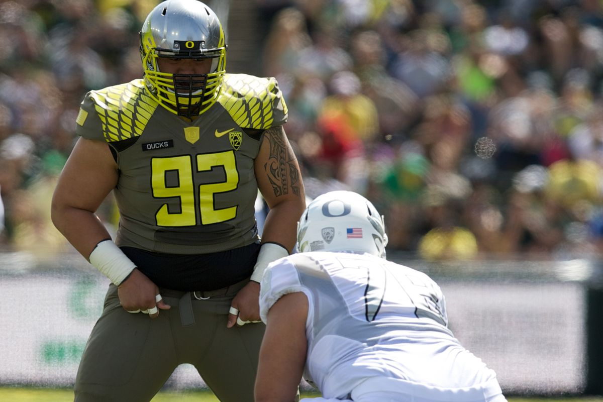 low priced c2626 d1ba9 Defensive End Austin Maloata Commits to Oregon - Addicted To ...