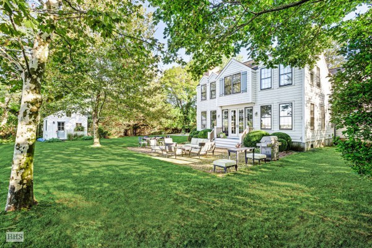 Waterfront Home In Sag Harbor Village With Private Dock Asks 8 25m