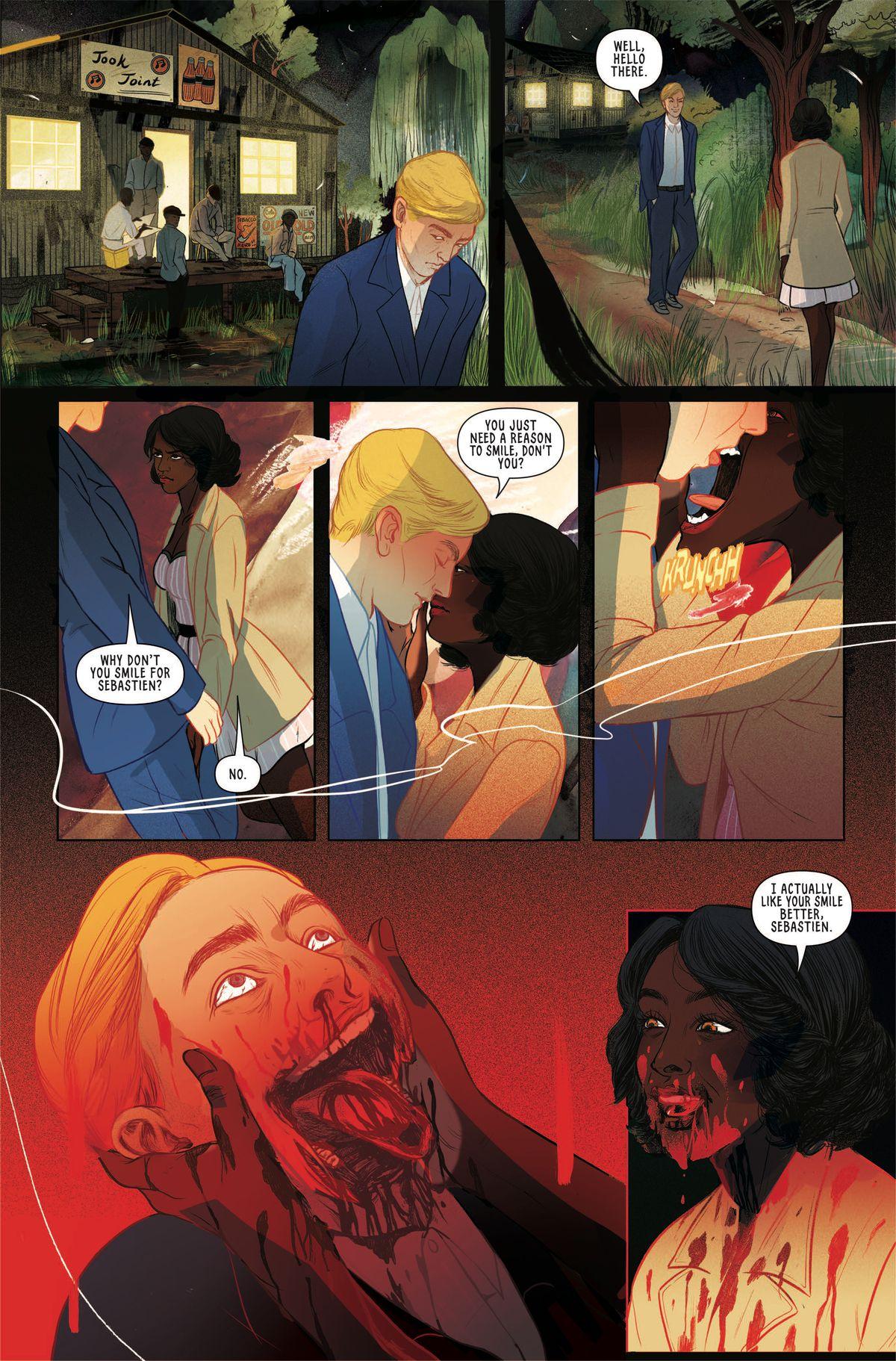 血腥的恐怖与图像漫画的Jook Joint中的爵士时代相遇
