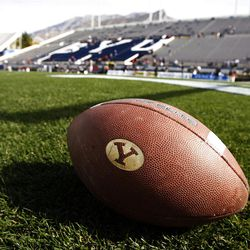 Pregame scene as Brigham Young University faces Idaho State in NCAA football in Provo, Saturday, Oct. 22, 2011.