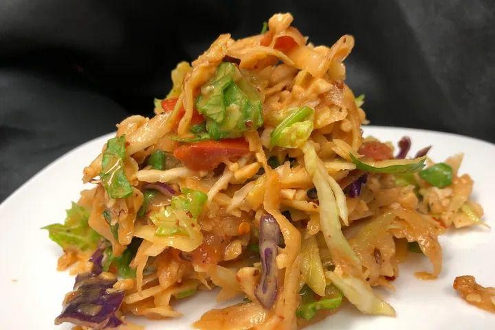 Mango salad from a Taste of Burma