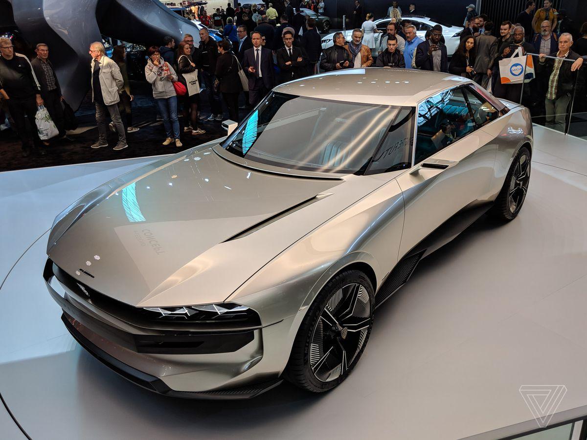 Peugeot S E Legend Concept Is A Muscle Car For The