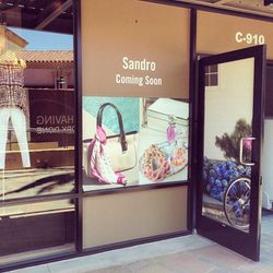 """Progress on that <a href=""""http://la.racked.com/archives/2014/03/21/omfg_rag_bone_maje_sandro_more_headed_to_desert_hills.php""""target=""""_blank"""">exciting</a> <b>Sandro</b> outlet, opening this fall!"""