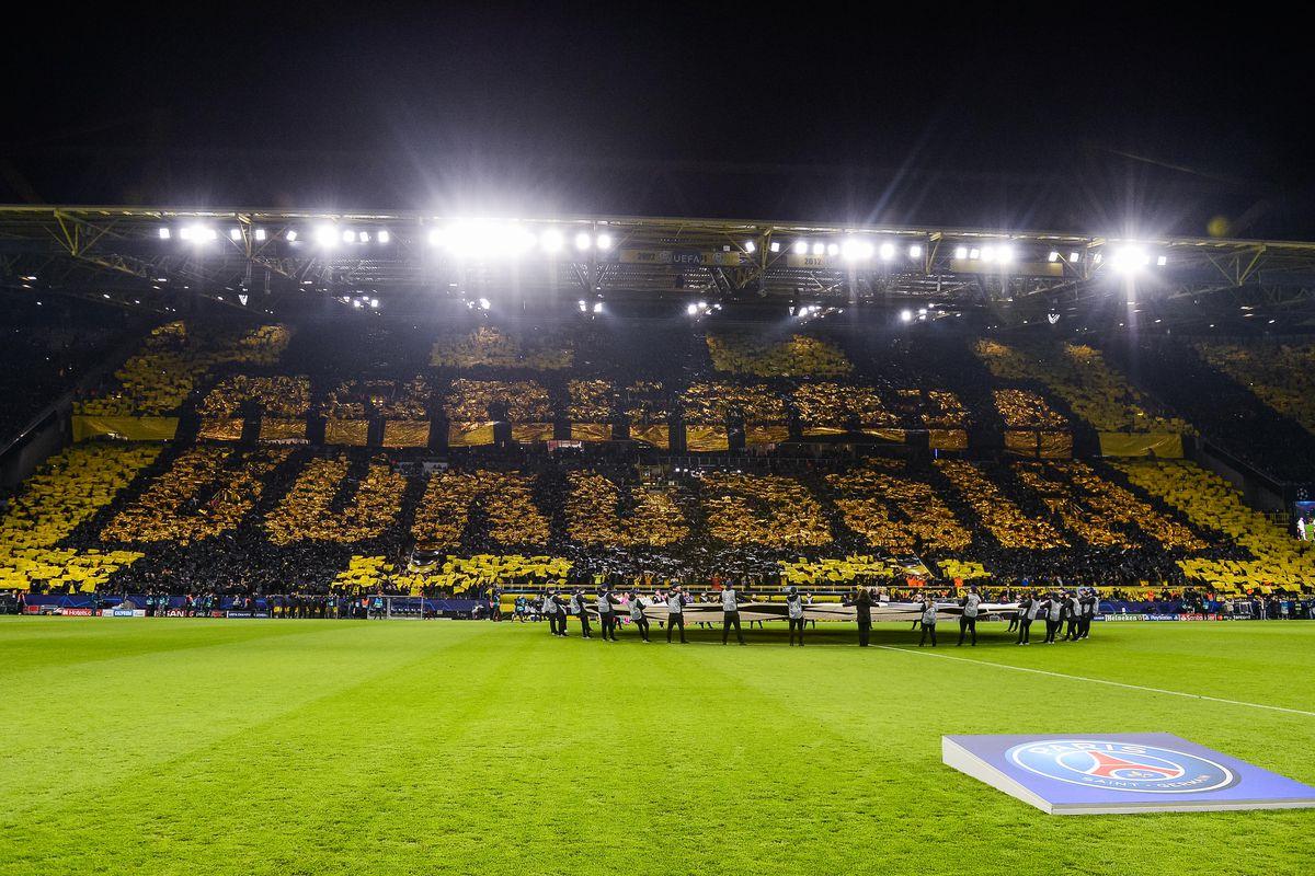 Borussia Dortmund v Paris Saint-Germain - UEFA Champions League