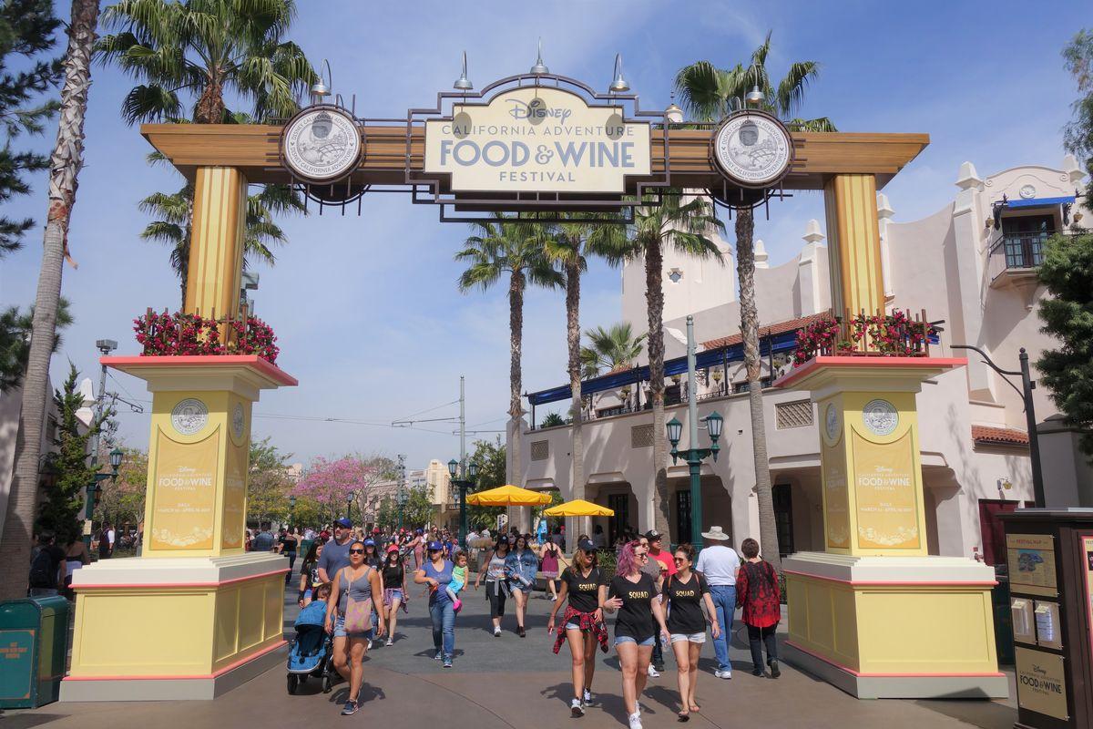 Disney California Adventure Food Festival