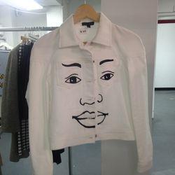 William Okpo jacket, $108