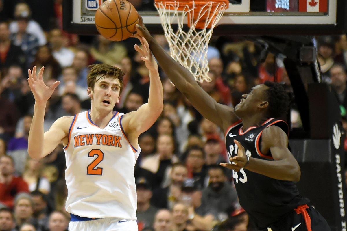 NBA: New York Knicks at Toronto Raptors