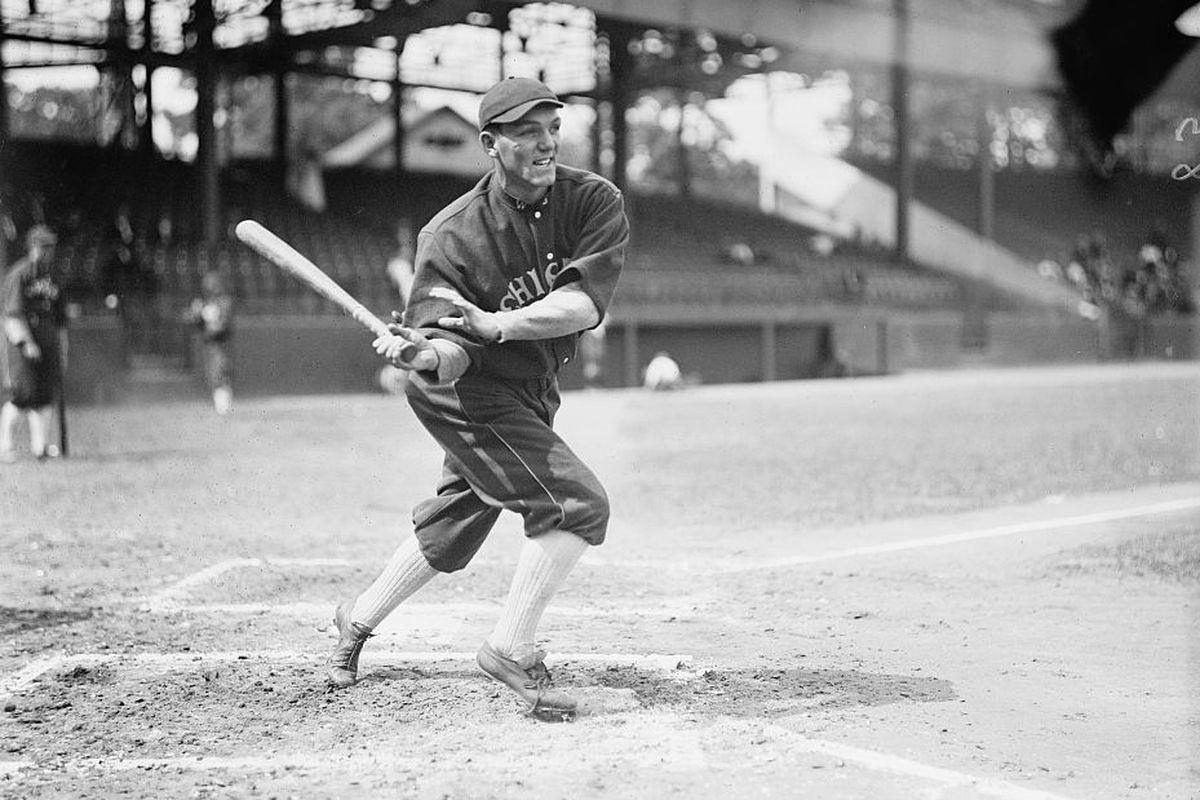 Buck Weaver in 1913.