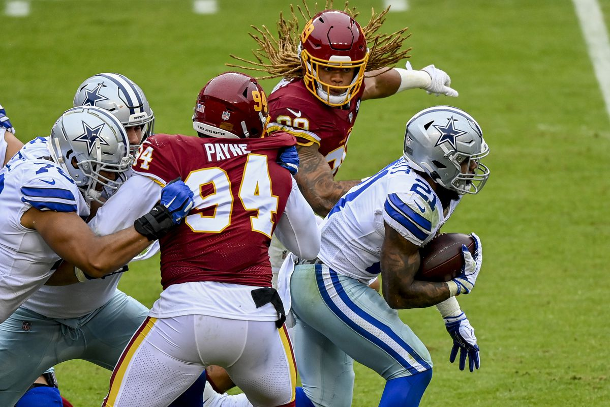 NFL-Dallas Cowboys at Washington Football Team