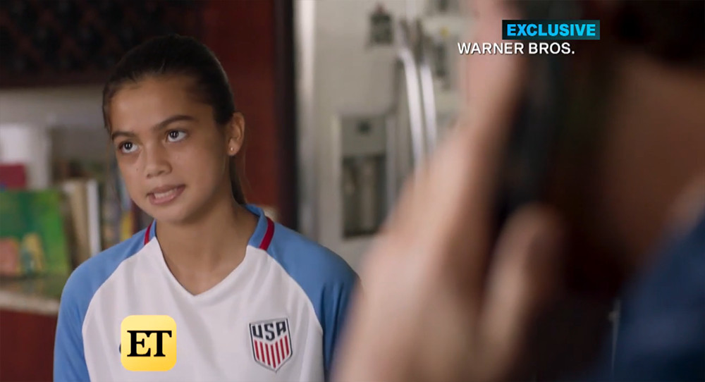0eb3c9581c1 Of note  in a reverse shot we see that this is a customized Alex Morgan  13  jersey. So WHY is it not a 3-star  Superfan Reagan is clearly aware of the  ...