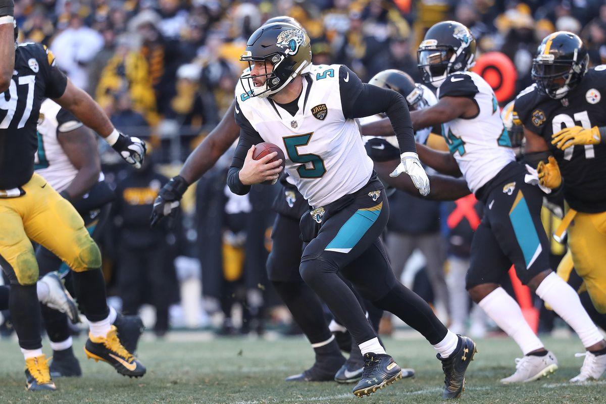 0c20577c Jaguars vs. Steelers 2018 live results: Jacksonville takes down ...