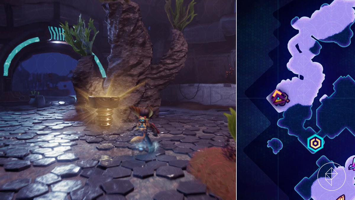 Ratchet & Clank: Rift Apart collectibles guide: Codelion Kedaro Station