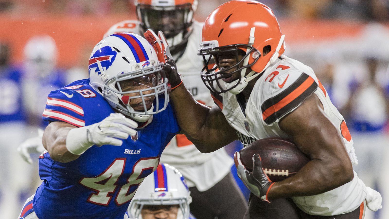 Bills stuff Browns on eight straight goal-line plays