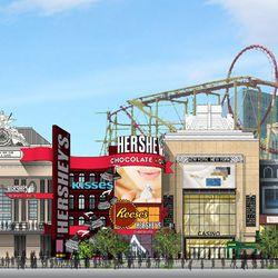 Hershey's Chocolate World will move into NYNY.