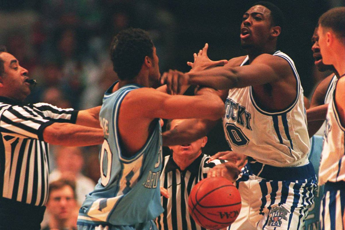 Unc Basketball Vs Kentucky A History Tar Heel Blog
