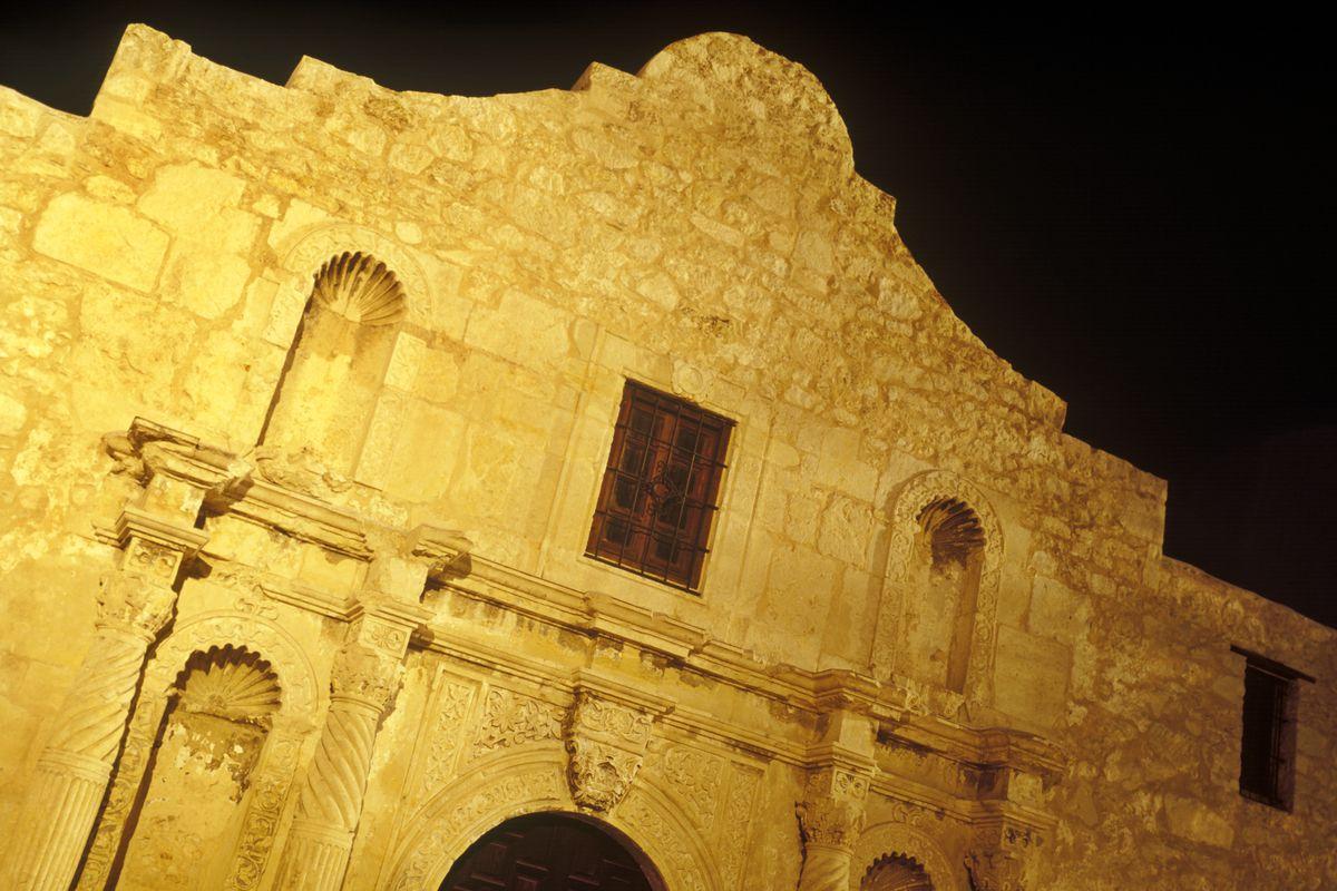 The Alamo, before the coming UN invasion.